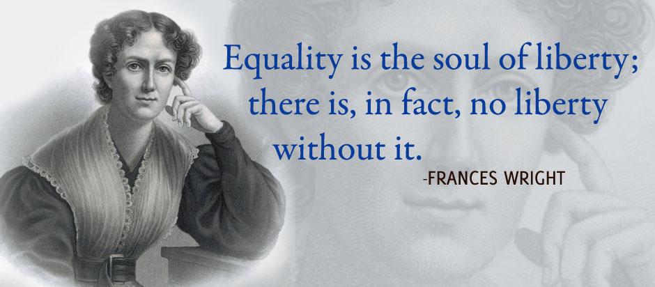 Francis Wright - Activist