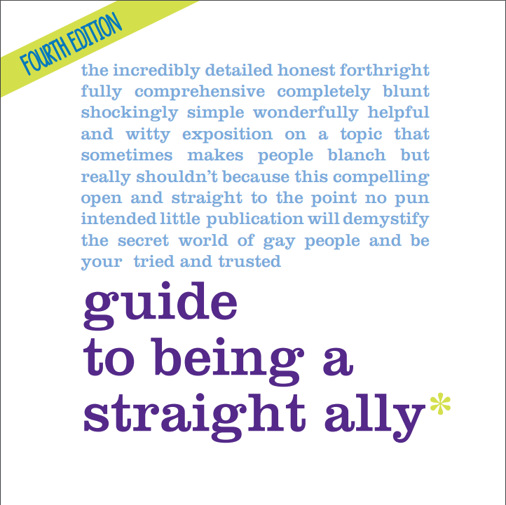 guide to being a straight ally