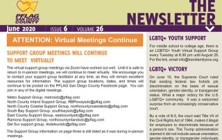 PFLAG San Diego County Newsletter June 2020