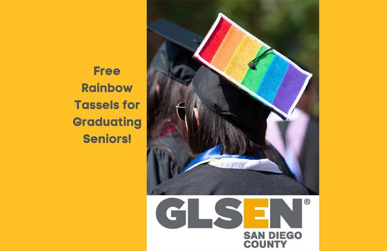 GLSEN Free Tassels for High School Graduates