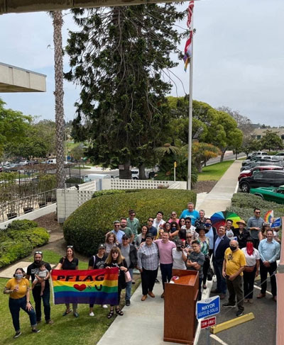 Progress Pride Flag National City