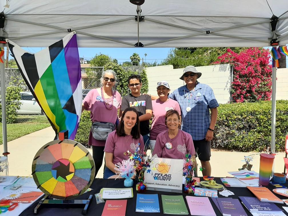 PFLAG SDC at San Diego Pride Family Gathering